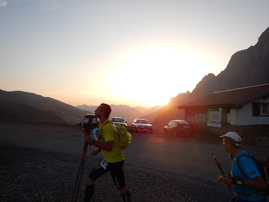 Sonnenaufgang auf der Grossen Scheidegg
