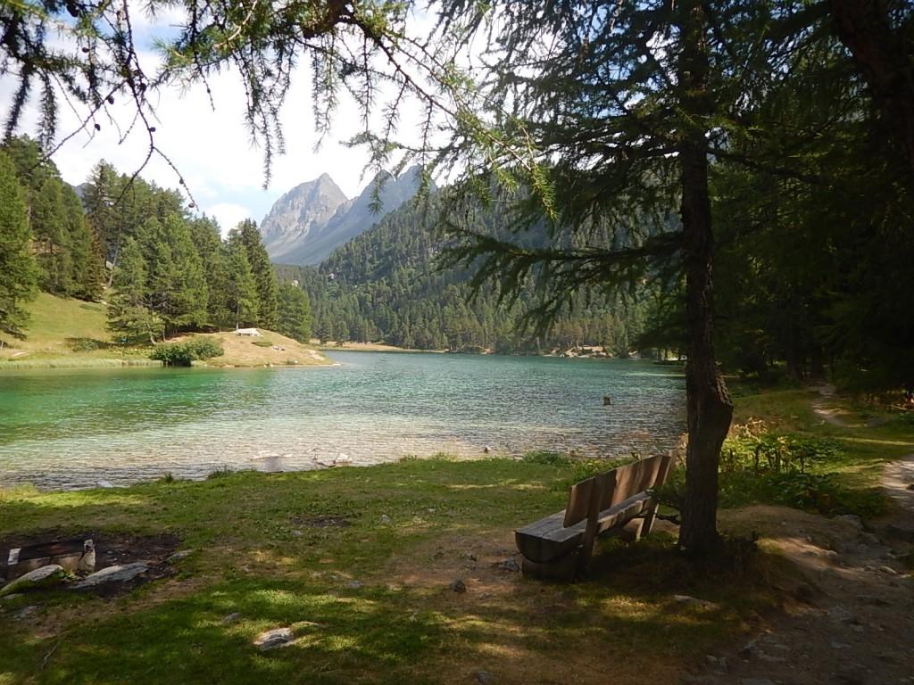 Malerischer Bergsee