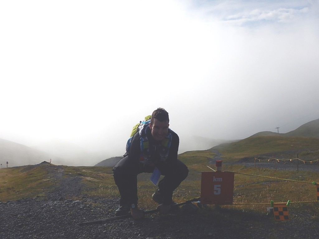 Strelapass. Noch 5km Downhill bis Davos.