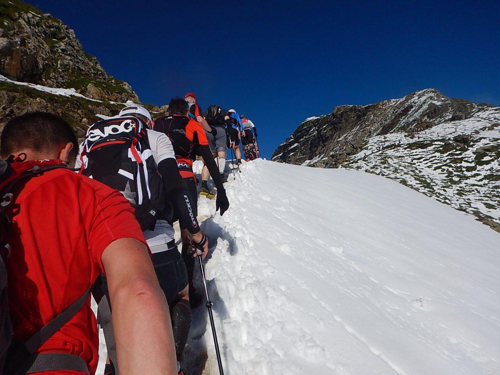 Die erste Schnee-Passage