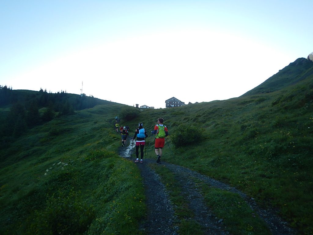 Kurz vor der Grossen Scheidegg