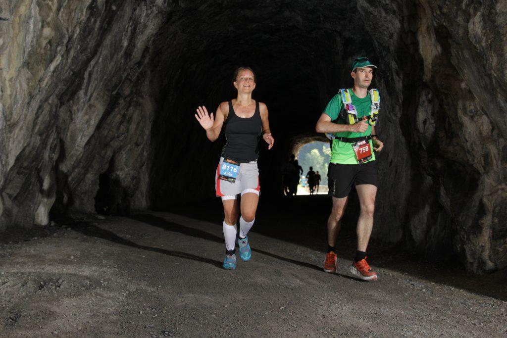 Tunnel in der Zügenschlucht